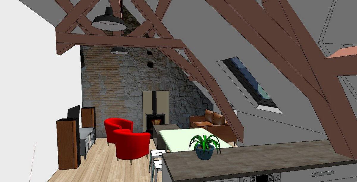 Maître d'œuvre et architecte d'intérieur à Nantes et sa région, Projets de rénovation, agrandissement, surélévation, construction performante et BBC